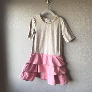 Hanna Andersson ruffle dress. Size 120 (6-7 year)